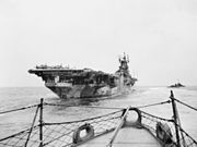 USS Yorktown (CV-10) aft view c1945