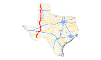 US 385 (TX) map.svg