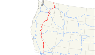 U.S. Route 395 Highway in the United States