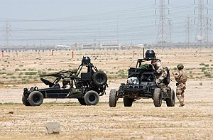 9th Infantry Division (United States) - U.S. Navy SEALs operate Desert Patrol Vehicles (DPV), the successor to the Fast Attack Vehicle pioneered by the 9th ID (Motorized).
