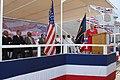 US Navy 090516-N-0860R-121 Alma Bernice Clark Gravely, ship's sponsor for pre-commissioning unit (PCU) Gravely (DDG 107), delivers her remarks.jpg