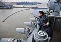 US Navy 100112-N-4774B-059 Watch Nimitz-class aircraft carrier USS Carl Vinson (CVN 70) wtch the ship get underway.jpg