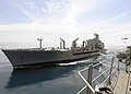 US Navy 101119-N-3729D-178 The Military Sealift Command fleet replenishment oiler USNS Pecos (T-AO 197) transits alongside the amphibious assault s.jpg