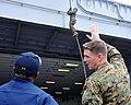 US Navy 111209-N-KD852-148 Capt. Cedric Pringle, executive officer of the amphibious assault ship USS Makin Island (LHD 8), observes Marines assign.jpg