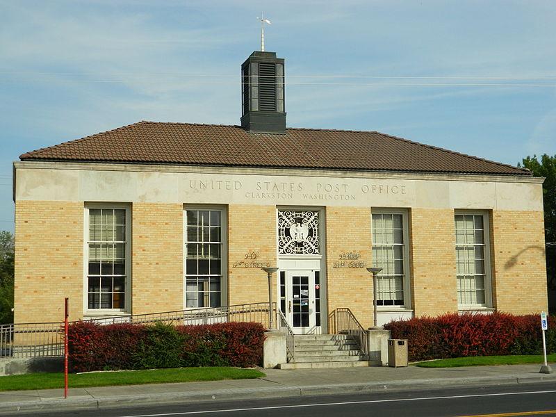 Clarkston (WA) United States  city photos gallery : US Post Office Clarkston WA Wikimedia Commons