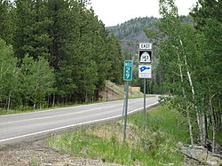 UT-143 East near Mammoth Creek - panoramio.jpg