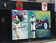 UVF mural in Shankill Road, Belfast