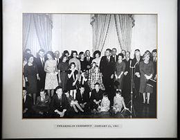 Udall at JFK Oath