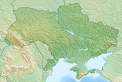 Mapa lokalizacyjna Ukrainy