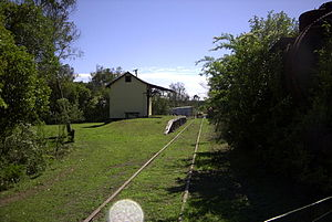 Dorrigo railway line - Ulong railway station
