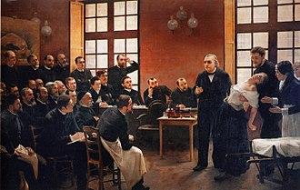 Hypnosis - Image: Une leçon clinique à la Salpêtrière