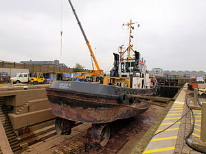 Union 5 in dry-dock of Antwerp pic1.JPG