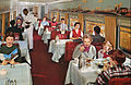 Union Pacific Railroad City of Denver dining car.JPG