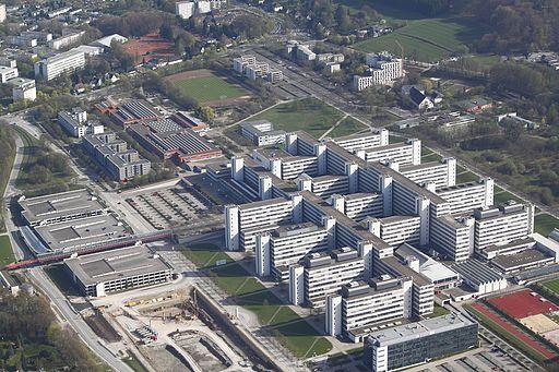 Universität Bielefeld Luftaufnahme