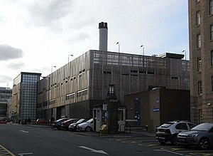 Wellman Group - University Hospital Birmingham boilerhouse with three Wellman-Robey boilers