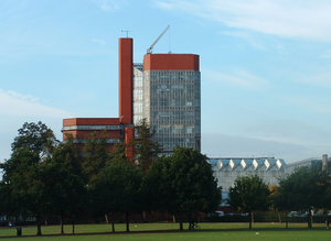 Frank Newby - The Leicester University Engineering Building, designed with James Stirling and James Gowan