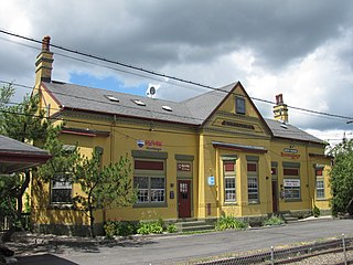 Wakefield station (MBTA) Railway station in Wakefield, Massachusetts