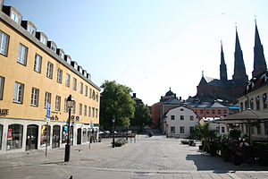 Uppsala Conflict Data Program - The UCDP is located at Uppsala University's Department of Peace and Conflict Research (at left) in Gamla Torget.