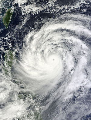 Timeline of the 2013 Pacific typhoon season - Typhoon Usagi at its peak intensity as a Category 4 super typhoon