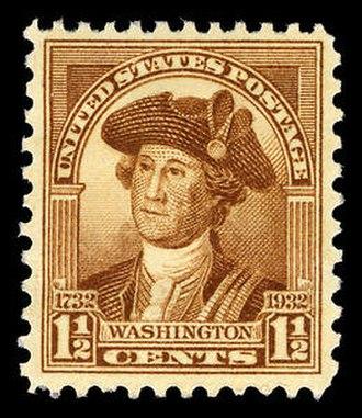 Washington Bicentennial stamps of 1932 - Image: Usps 706