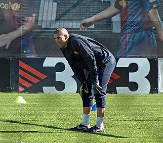 2007–08 FC Barcelona season - Víctor Valdés has the most starts in this season.