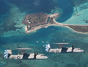 VAW-121 - Image: VAW 121 Key West Two Plane Formation