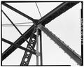 VIEW OF UPPER CHORD CONNECTION, PANEL POINT D - Bridge No. 18, Spanning Kickapoo River, La Farge, Vernon County, WI HAER WIS,62-LAFA.V,1-11.tif