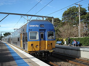 CityRail - V set at Hamilton in July 2009