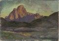 Vaagakallen. Study from Lofoten (Anna Boberg) - Nationalmuseum - 20451.tif