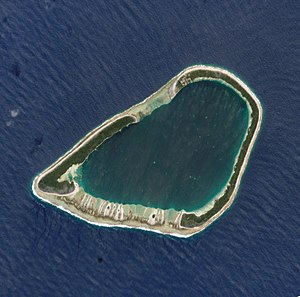 Vairaatea - NASA picture of Vairaatea Atoll