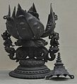 Vajratara - Bronze - Circa 7th-12th Century AD - Patharghata - Bhagalpur - Bronze Gallery - Indian Museum - Kolkata 2012-12-21 2407.JPG