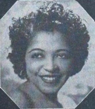 Valaida Snow - Valaida Snow in a 1945 advertisement