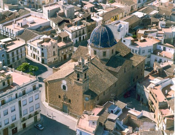 Vall de Ux%C3%B3.Iglesia del Santo %C3%81ngel Custodio