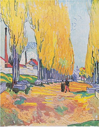 Les Alyscamps - Image: Van Gogh Les Alyscamps, Allee in Arles 3