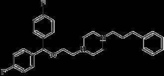 Vanoxerine - Image: Vanoxerine