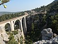 Varda Bridge, Kiralan, Turkey - Panorama (1961).jpg