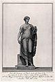 Venus (Aphrodite). Engraving by F. Piranesi, 1782, after T. Wellcome V0036079.jpg