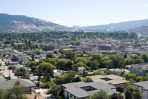 Vernon, British Columbia - Image: Vernon Downtown 2