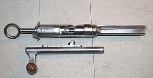 Schmidt–Rubin - Bolt of the Model 1911 Rifle and Carbine, operating rod stripped