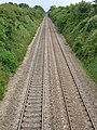 Very straight railway to Bury St. Edmunds - geograph.org.uk - 1401936.jpg