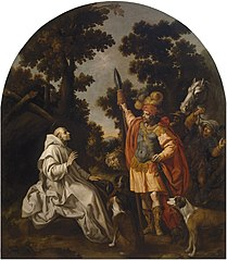 Saint Bruno Encounters the Count of Sicily and Calabria