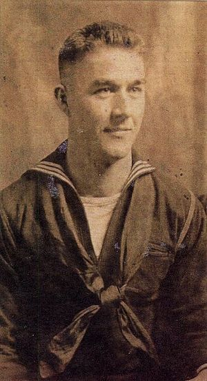 Victor Mills - Victor Mills in the Navy