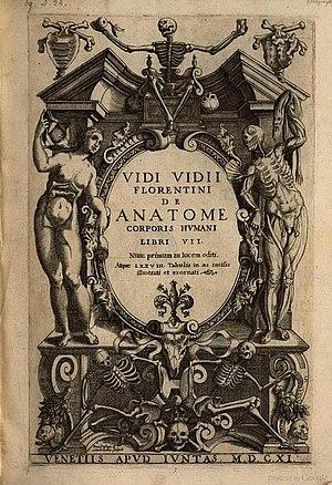 Vidus Vidius - De anatome corporis humani libri VII