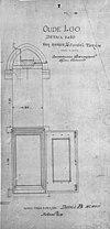 vier ramen in de zuidelijke toren, 1907 - apeldoorn - 20023674 - rce