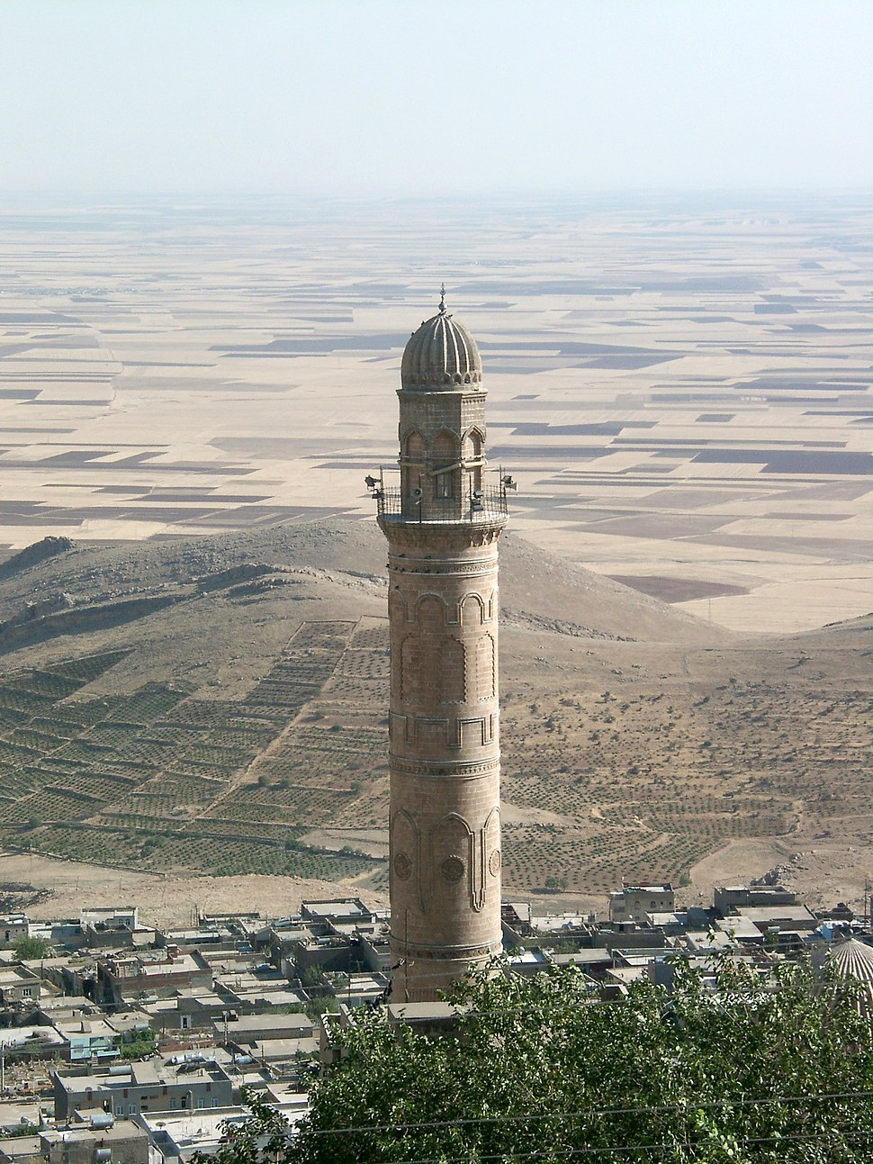 View from Mardin to the Mesopotamian plains