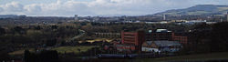 View from Markinch Cemetary1.JPG