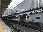 View from platform of Hakata Station (local lines) 3.jpg