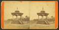 View of Music Stand, Central Park, Macon, Ga, by A. J. Haygood.png
