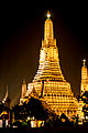 View of Wat Arun during night.jpg