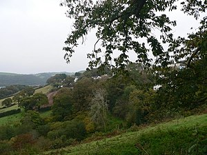 Townstal - View to the north of Townstal